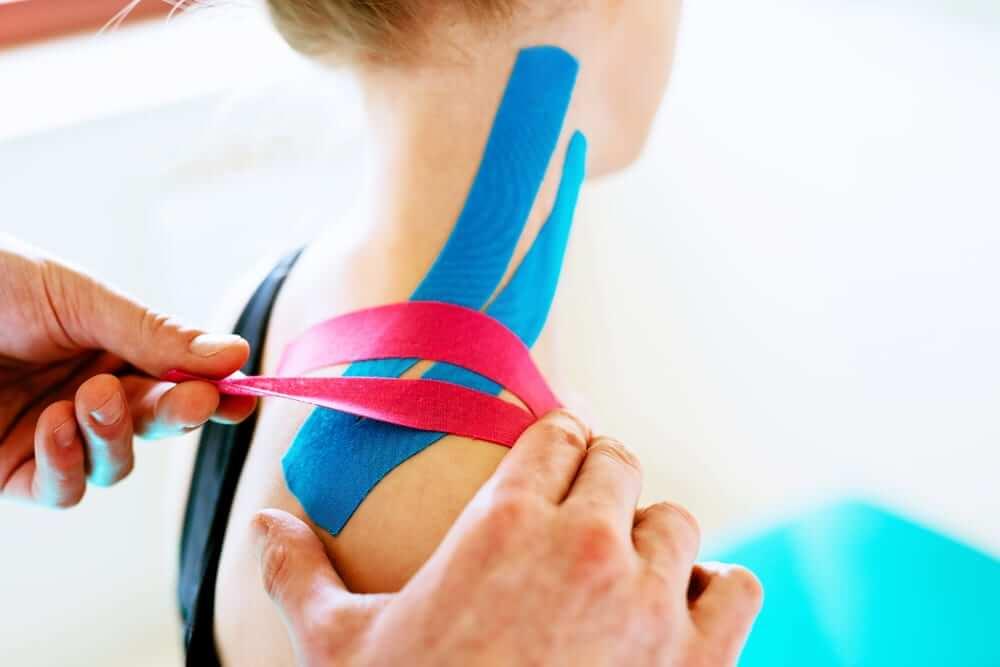 curso vendaje neuromuscular kinesiotape Sanis Natura centro terapias manuales
