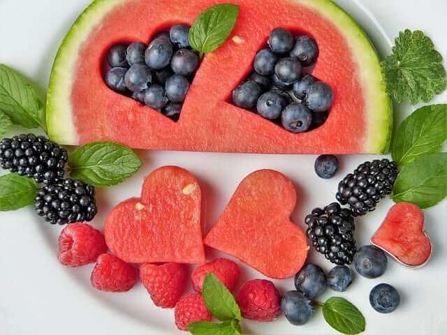 dieta sana para niños