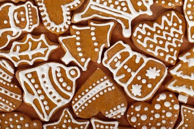galletas de jengibre sin azúcar