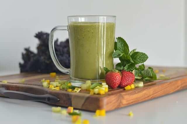 batido verde bebida vegetal smoothie