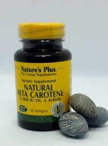 vitaminas betacaroteno