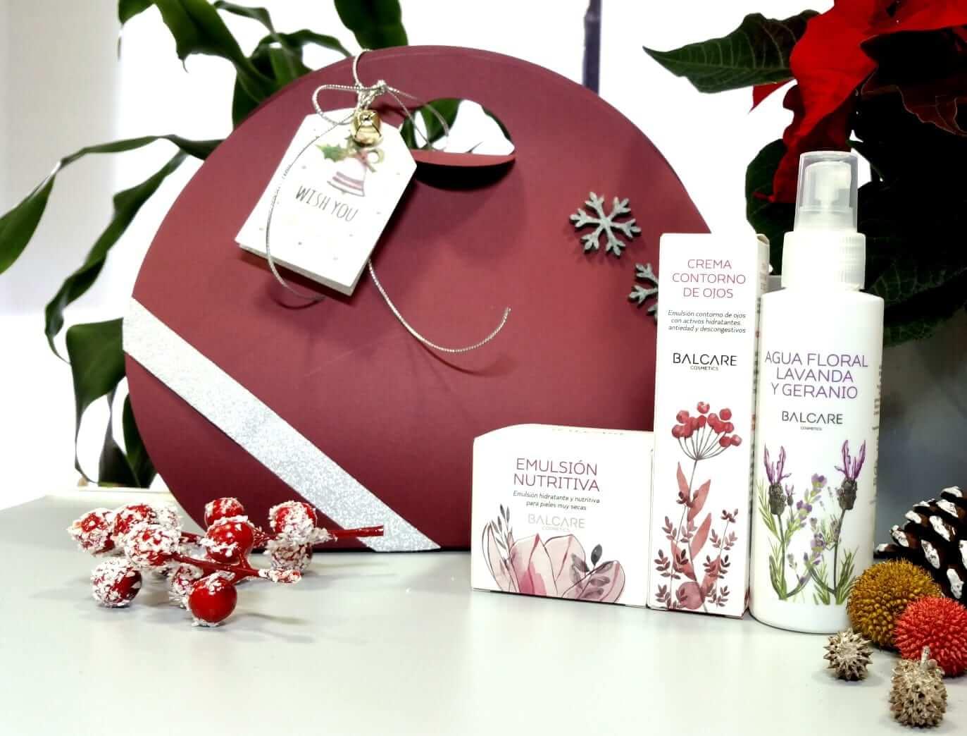 Cestas Navidad regalo cosmética natural
